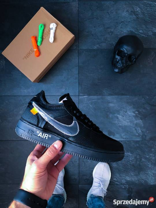Nike x Off White Air Force 1 Low Black r40 44