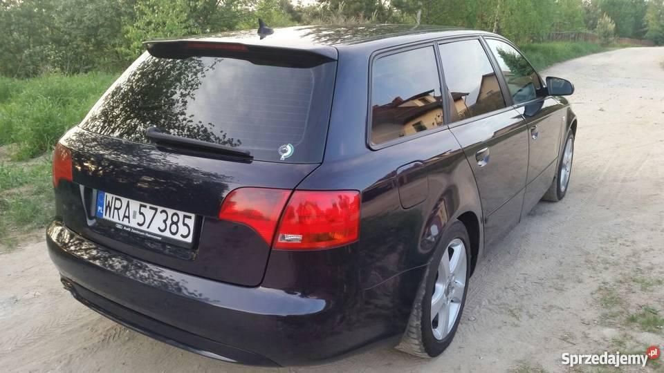AUDI A4 20 TDI STAN Climatronic Alufelgi OKAZJA Olsztyn sprzedam