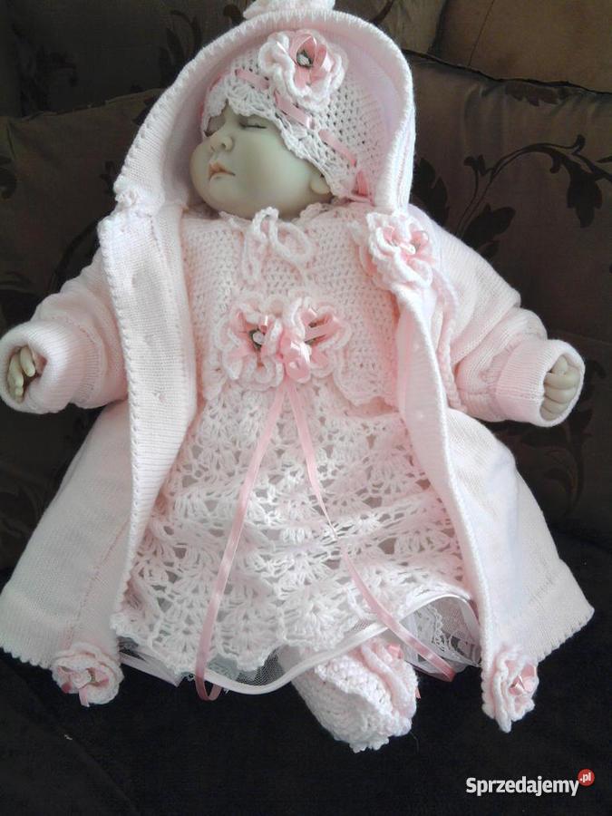 b3e7f03987 sukienki do chrztu dla dziewczynki - komplety do chrztu -42 ...