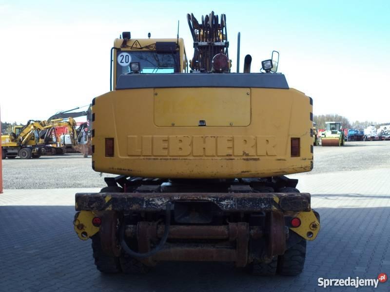 Liebherr A900c Zw    A900 Koparka Torowa D U0105browa