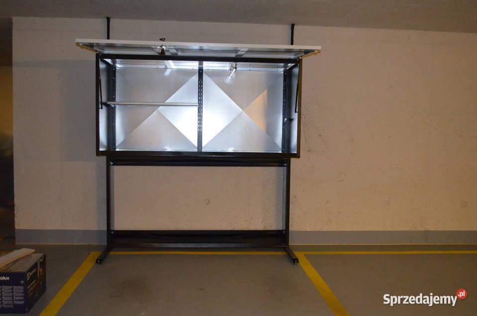 Szafa garażowa poj.1800l LAKIEROWANA metalowa box garażowy