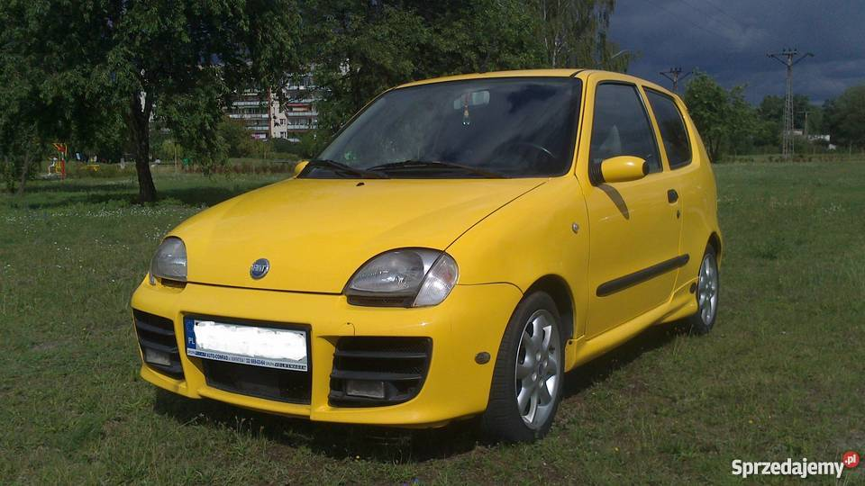 fiat seicento sporting michael schumacher edition limited. Black Bedroom Furniture Sets. Home Design Ideas