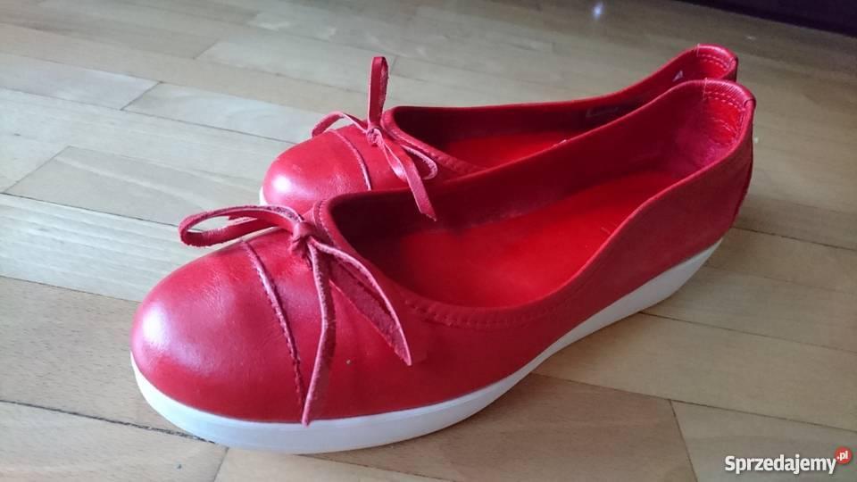 01f7009d2009e Buty czerwone ESPRIT na koturnie 39 Warszawa - Sprzedajemy.pl