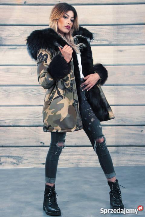 Kurtka parka futerko damska jesień zima promocja Zdjęcie