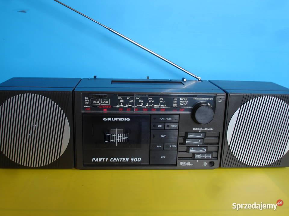 Radiomagnetofon GRUNDIG PARTY CENTER 500