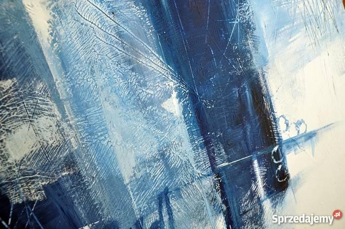 Abstrakcja GBC nowoczesny obraz ręcznie malowany pomorskie Malbork