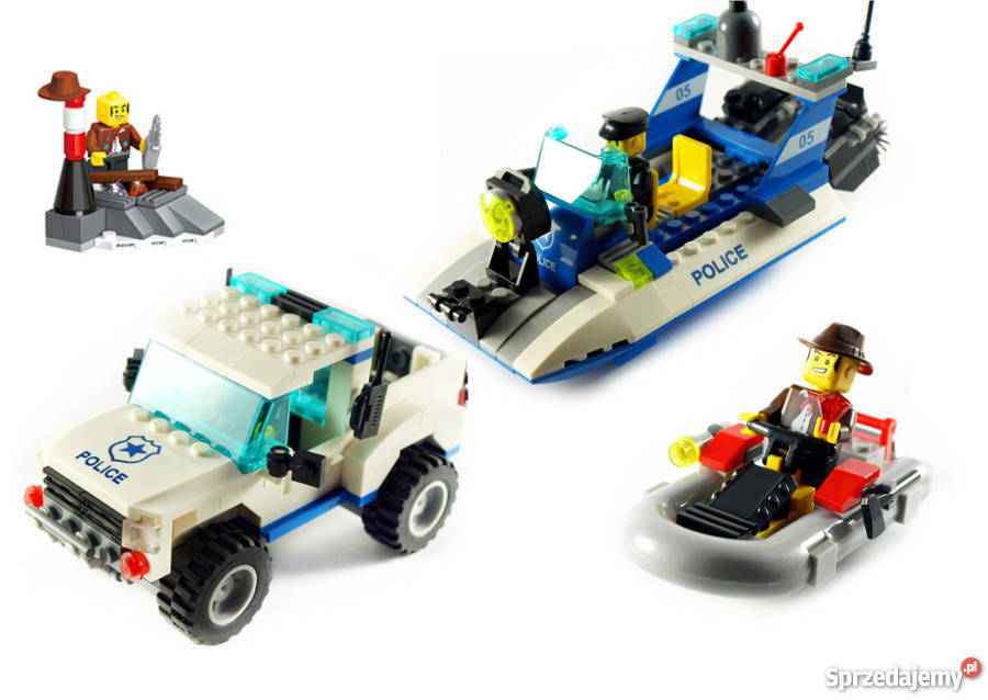 Zestaw Klocków Policja Straż Przybrzeżna 453 Zamiennik Lego Warszawa