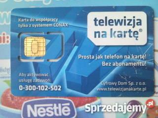 Nc Plus Na Karte.Sprzedam Karta Tnk Sd Conax Telewizja Na Karte Nc