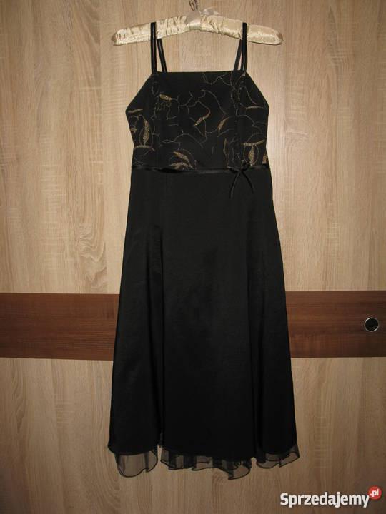85496d959a Sukienka czarna 38 Bez wzoru Spódnice i sukienki Suwałki