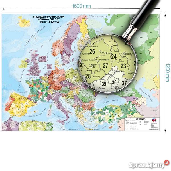 Mapa Podreczna Europy Fizyczna Polityczna Wydawnictwo Pietka