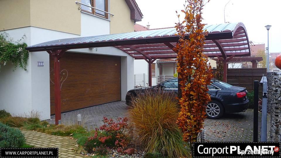 Wiaty garażowe wiata na samochód we Wrocławiu