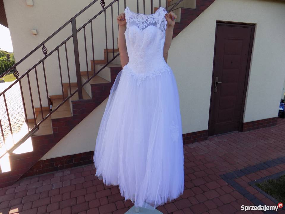 Suknia ślubna Princessa Z Ramiączkami Sprzedajemypl