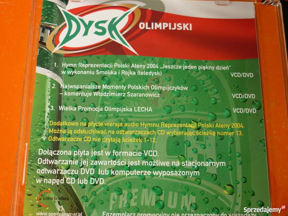 Płyta VCD Dysk olimpijski Smolik i Rojek Warszawa sprzedam