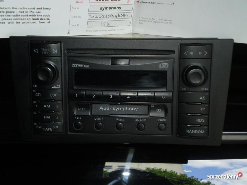 Radio samochodowe do AUDI A4 A3A6 Bystrzyca Kłodzka