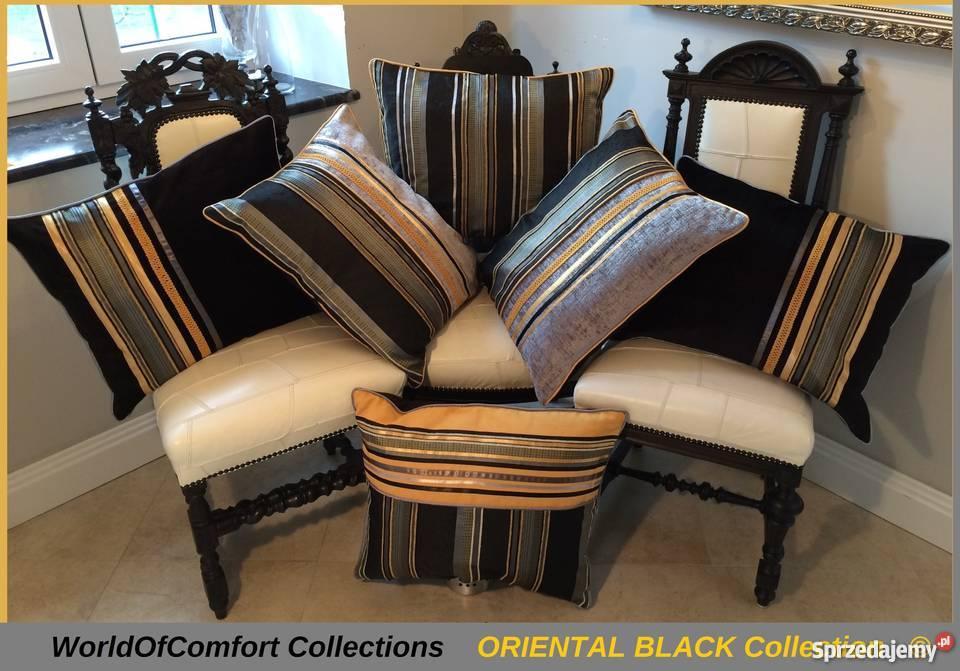 Poduszki Dekoracyjneposzewki Ozdobne Oriental Black