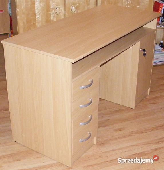 biurko z szafką i szufladami Nowe Miasto Lubawskie
