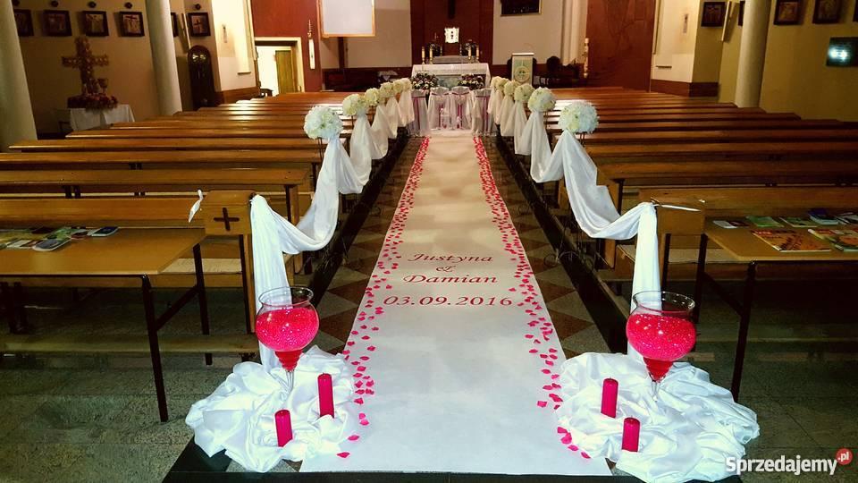 Oferuję Dekorację ślubną Kościołarestauracji Rzeszów Sprzedajemypl