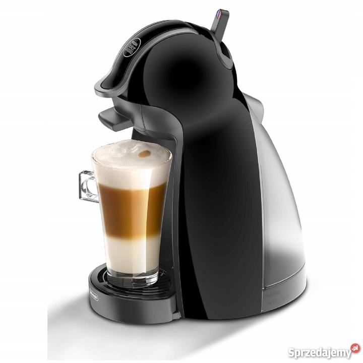 Dodatkowe Czarny ekspres do kawy Dolce Gusto DeLonghi kapsułki NESCAFE Toruń YU87