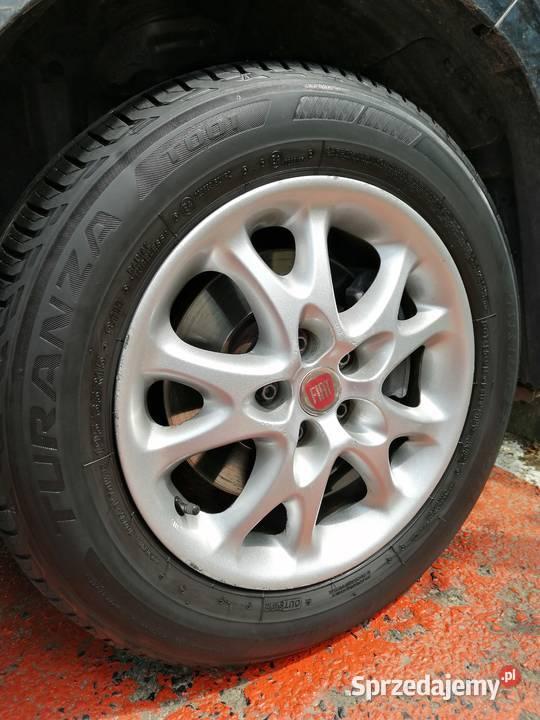 Felgi aluminiowe 15 cali Alfa Romeo Fiat plus opony