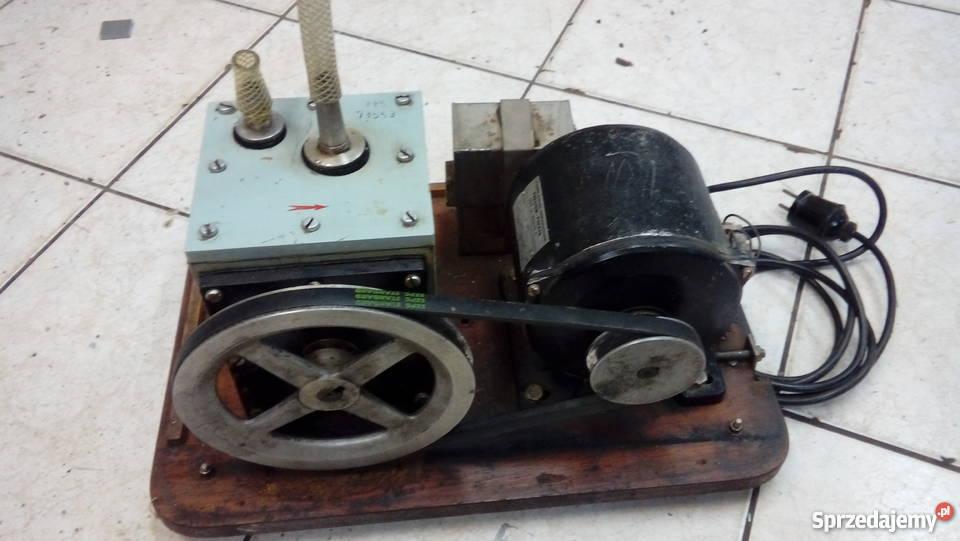 Pompa próżniowa PP5 z silnikiem zestaw Lubin