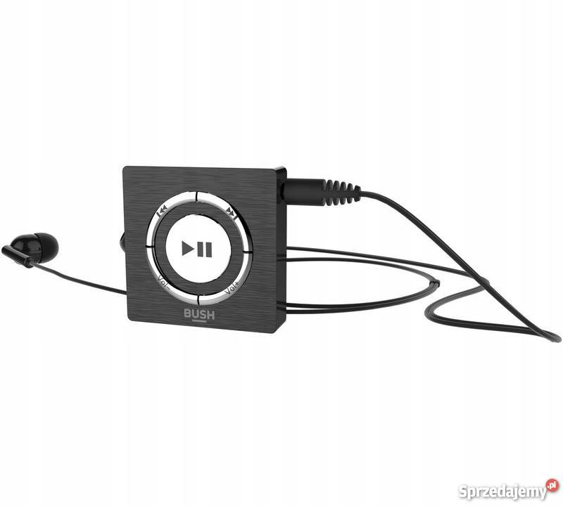 Odtwarzacz MP3 Bush KW-MP01 Pamięć 4 GB Czarny Muzyka