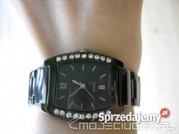 Wspaniały Yves Rocher - NOWY grafitowy zegarek damski - Sprzedajemy.pl MQ39