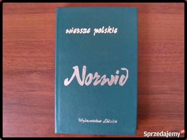 Wiersze Polskie Norwid Wyd łódzkie