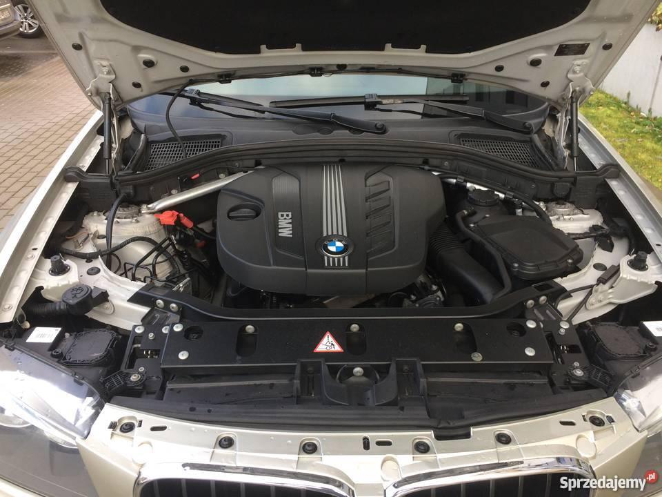 BMW X3 F25 garażowany
