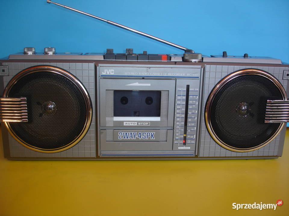 Radiomagnetofon JVC RC-660LS