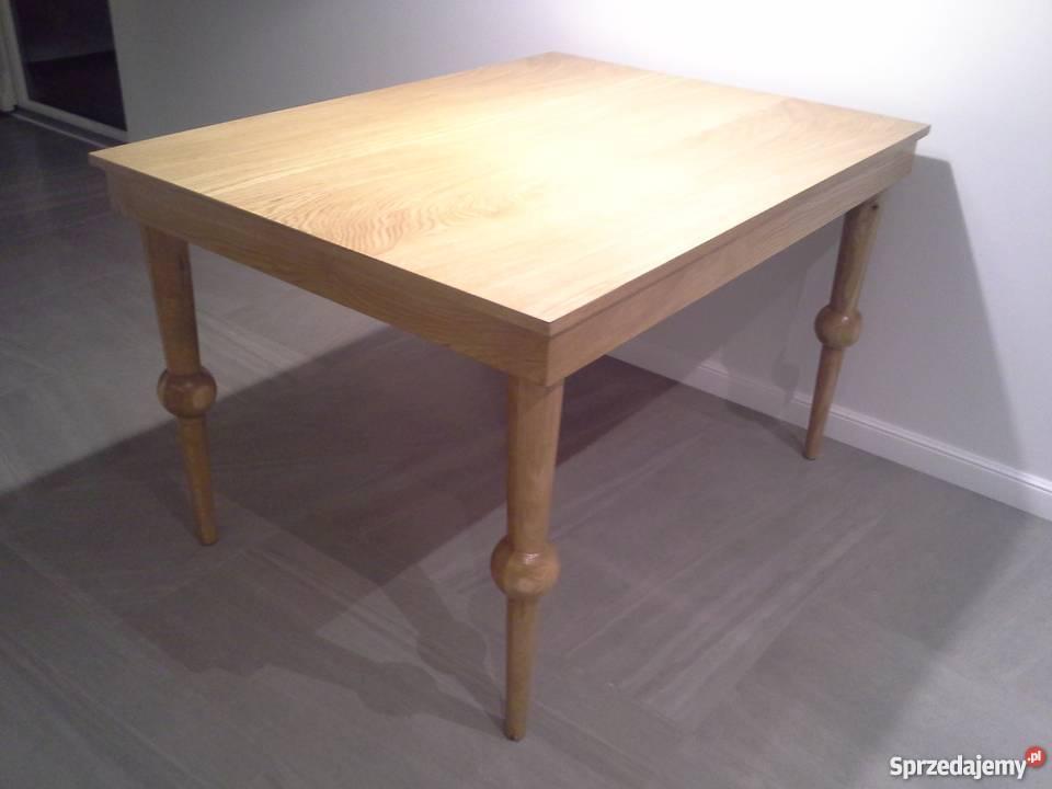 Akant Meble Stół Stolik Toczone Nogi Podstawa Dębowa