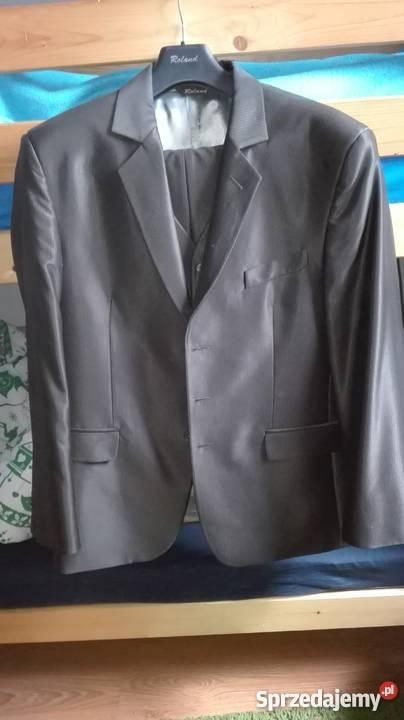 9e4b3c0bef655 brązowy garnitur - Sprzedajemy.pl