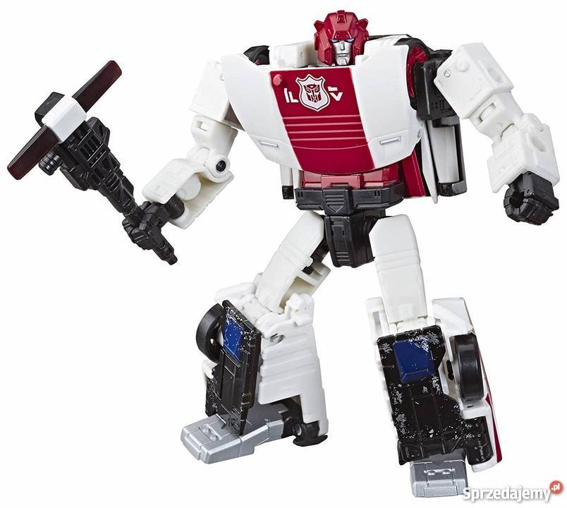 Transformers Siege Red Alert Complete Deluxe WFC
