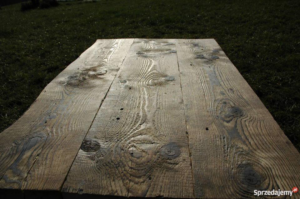 Zrobię blaty drewniane ze starego drewna Meble Kraków sprzedam