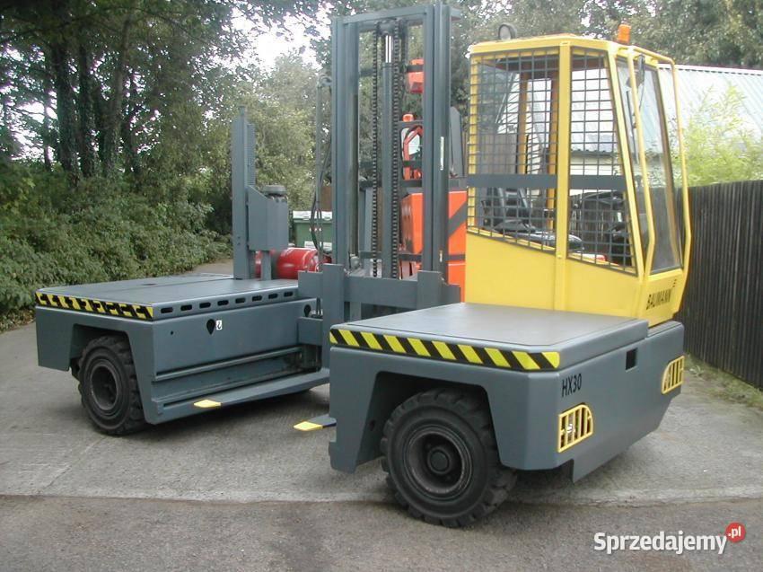 wózek widłowy boczny Baumann platforma 1800 mm 5 ton UDT Gw.