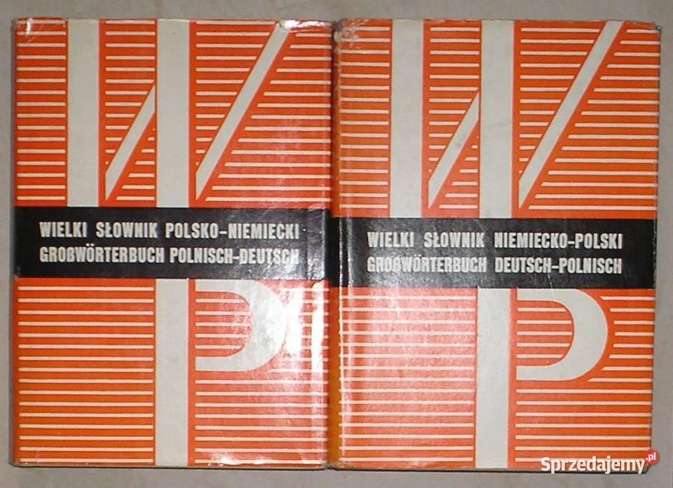 Wielki słownik polsko-niemiecki i niemiecko-polski