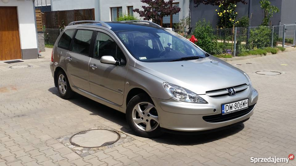 peugeot 307 sw 1 6 hdi 90km dach panoramiczny klimatronic wroc aw. Black Bedroom Furniture Sets. Home Design Ideas