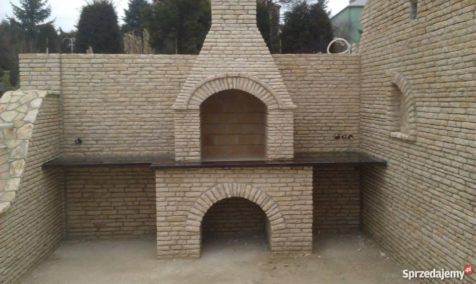Chwalebne Grille ogrodowe,grille z kamienia,grille murowane Olkusz AV03