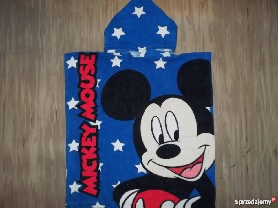 375f7b0eabc286 Duży ręcznik kąpielowy z kapturem Myszka Miki Disney Poznań ...