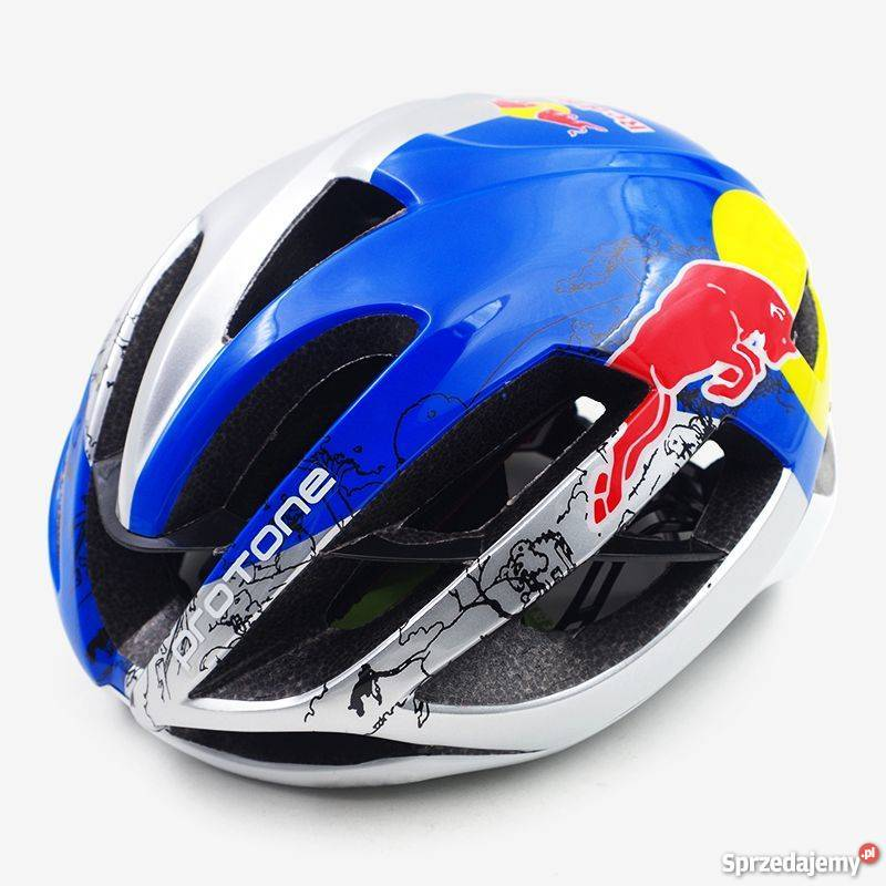Kask Rowerowy Red Bull Roz Ml Szosowy Mtb Lekki Protone Białystok