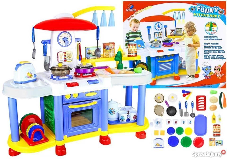 Kuchnia Kuchenka Dla Dzieci Obieg Wody 30 Akcesoriów