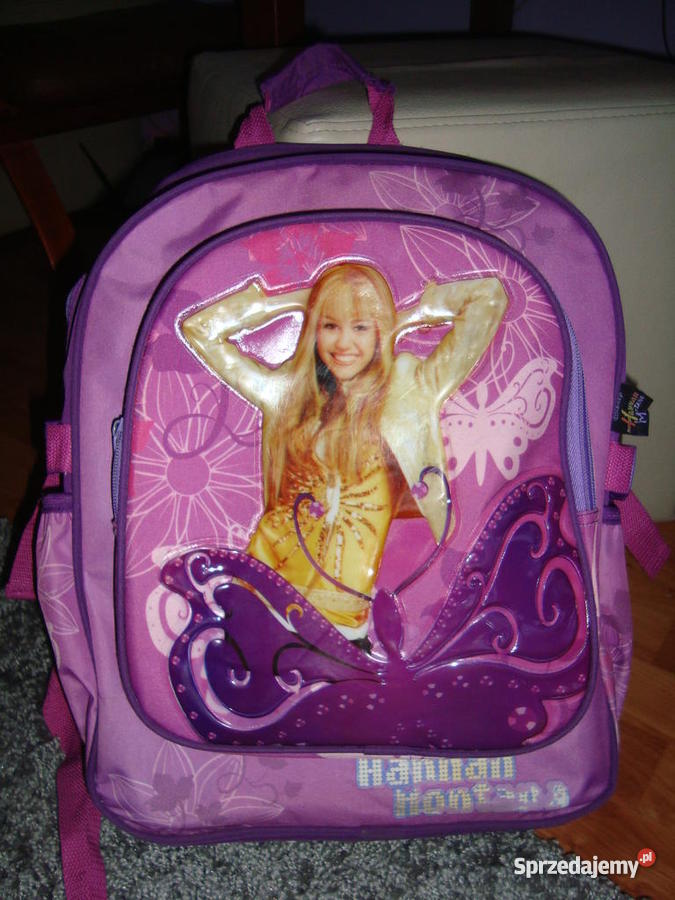 cc73adf4bd4b9 Plecak szkolny Hannah Montana - Sprzedajemy.pl