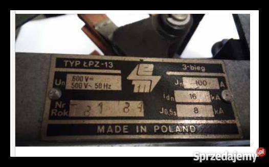 Cudowna wyłącznik, rozłącznik, odłącznik ŁOZ-23 Dąbrowa Górnicza KB26