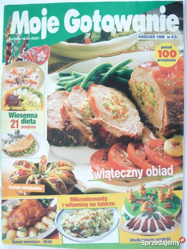 Moje Gotowanie 1995 Nr 04 05 Kwiecien Gorzow Wielkopolski