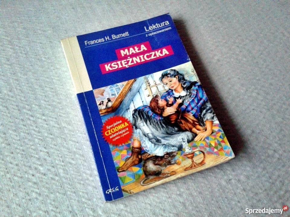 Książka Mała Księżniczka Frances H Burnett wyd Książki dla dzieci Sosnowiec