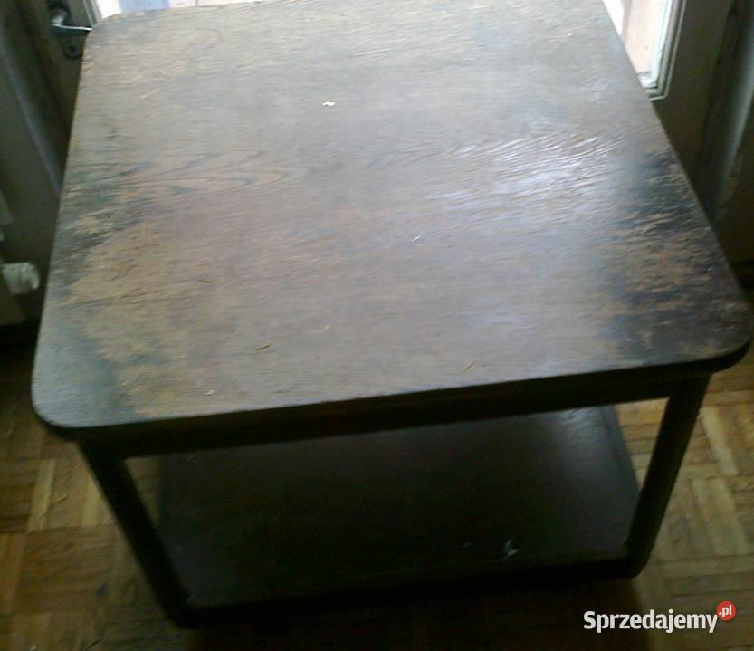 Stolik drewniany do renowacji
