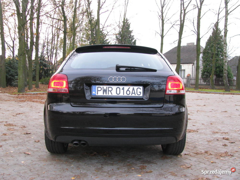 audi a3 2 0 tdi 8v 140km bmm 2006 fabryczny pakiet s line. Black Bedroom Furniture Sets. Home Design Ideas
