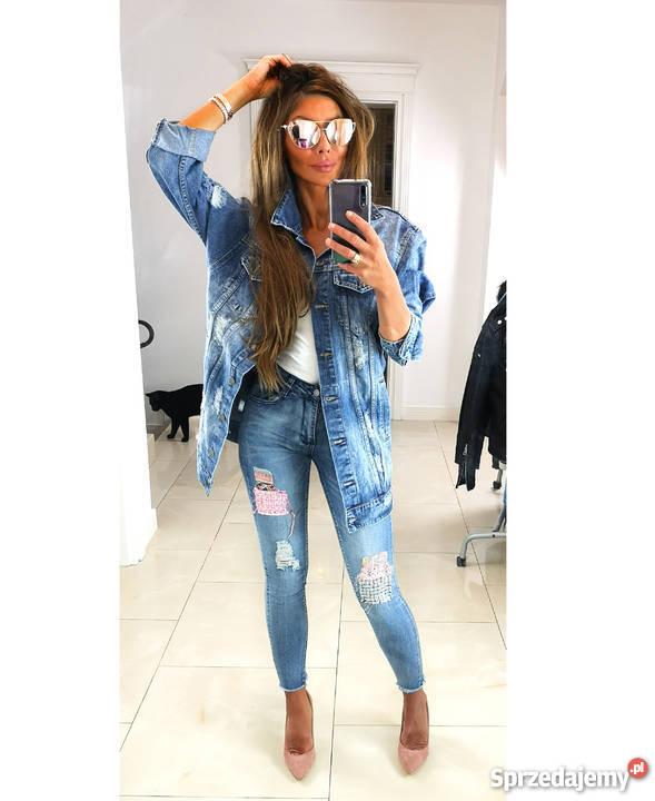 417ba52306b28 jasna kurtka jeansowa - Sprzedajemy.pl