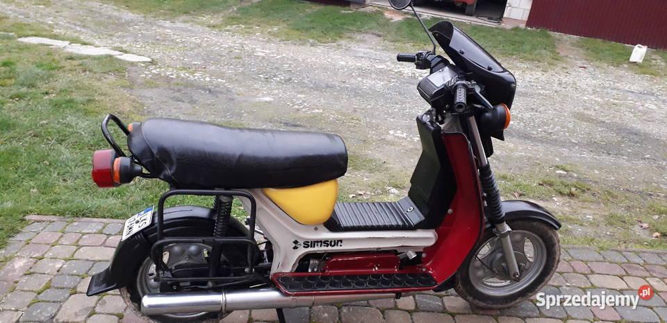 Sprzedam Simson skuter SR 50