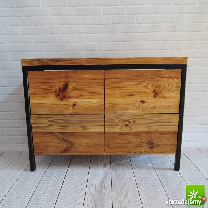 Piękna Komoda Ze Starego Drewna Na Zamówienie
