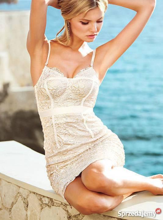 6aa8039842 Sukienka Victorias Secret koktajlowa koronka Spódnice i sukienki Poznań